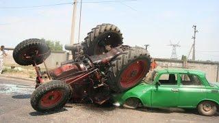 Лучшая нарезка приколов про ...трактора! Смотрите!