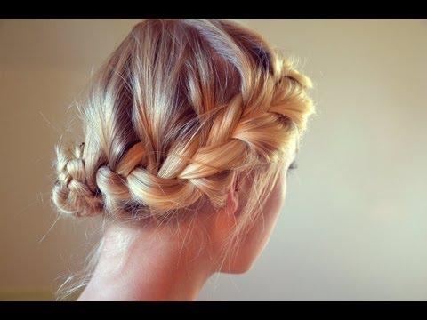 hair tutorial elegant quick boho