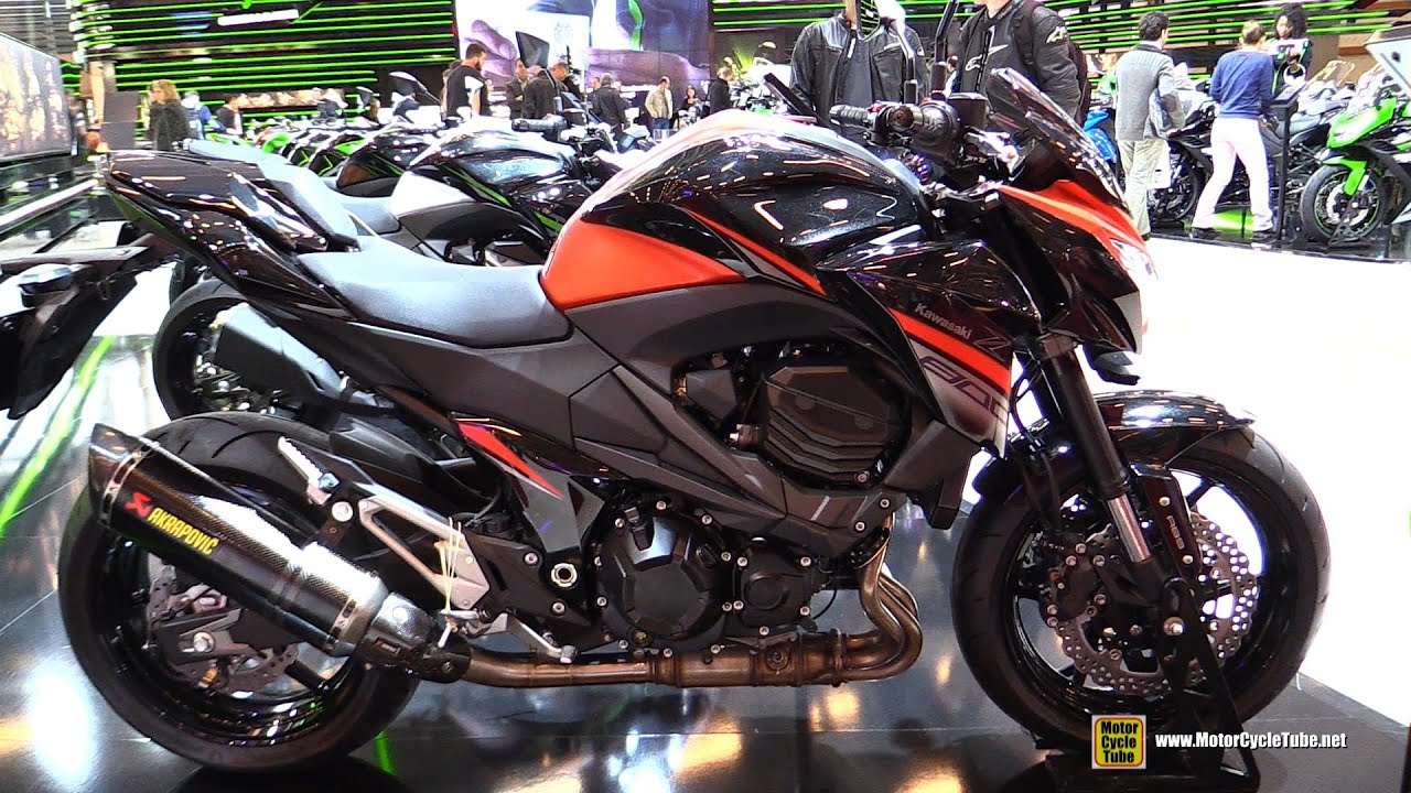 2016 kawasaki z800 e version walkaround 2015 salon de la moto paris youtube. Black Bedroom Furniture Sets. Home Design Ideas