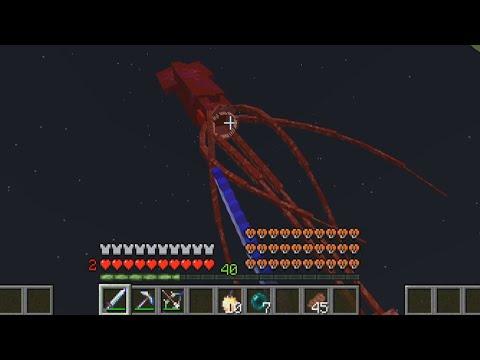 Minecraft - Epic BOSS *KRAKEN*   Crazy Craft