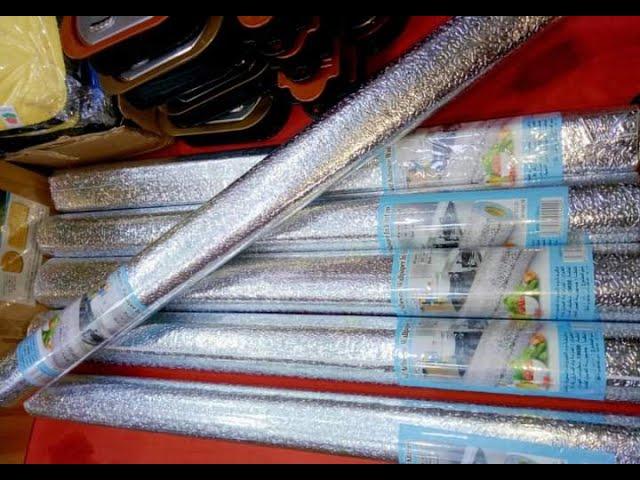 ورق الألمنيوم اللاصق الخاص بالمطابخ Top و لا Floop