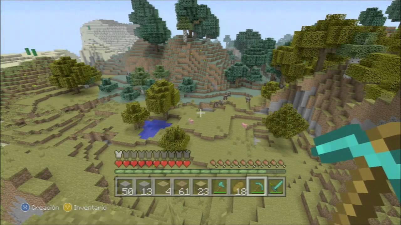Zona minecraft mi cuevi casa en la monta a youtube for Casa en la montana