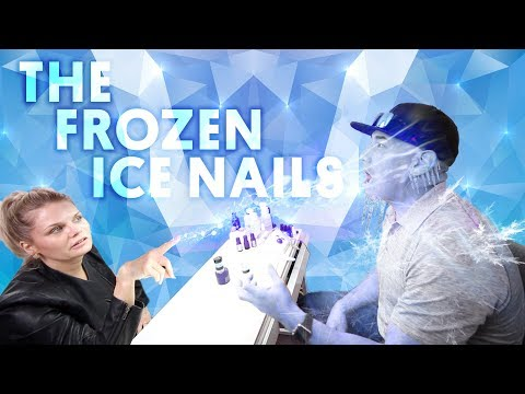THE FROZEN ICE NAIL (ACRYLIC NAILS) - VLOG 112