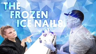 Video THE FROZEN ICE NAIL (ACRYLIC NAILS) - VLOG 112 download MP3, 3GP, MP4, WEBM, AVI, FLV Maret 2018