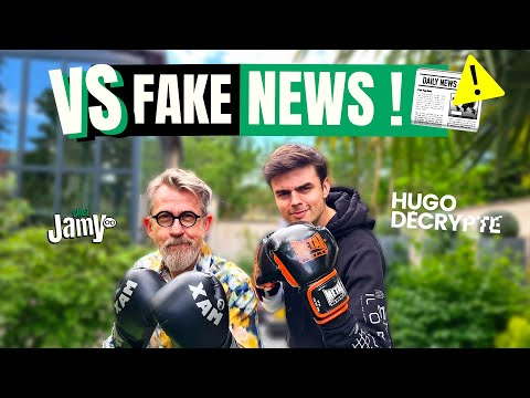 📱 Les fake news VS notre cerveau 🧠 avec HugoDécrypte