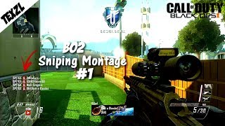 Obey Texzl - Black Ops 2 Sniping Montage #1