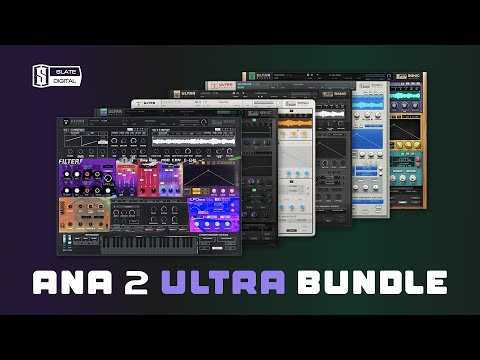 🎹  Meet every synth you ever wanted: ANA 2 Ultra Bundle