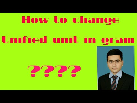 Unified Unit (Calculation for Unified Unit) Value of unified Unit by Amardeep Bhardwaj (AB Sir)