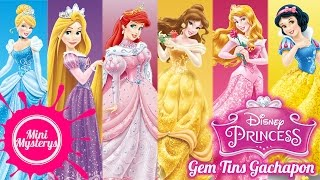 👸 DISNEY PRINCESS GEM TINS GASHAPON FULL COLLECTION 👸 DISNEY PRINCESS GACHAPON TARCO