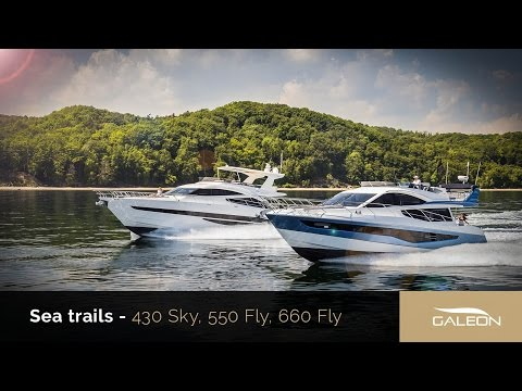 Galeon Yachts Sea Trials