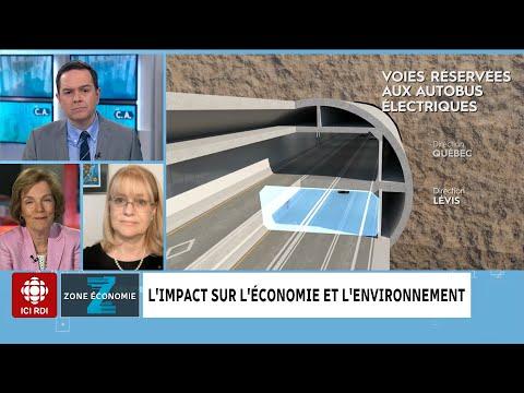 Tunnel Québec-Lévis : un bon projet ?