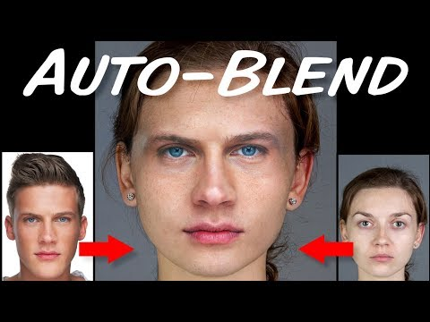 Photoshop QUICK Tip: Auto-Blend (CS6 And Later)