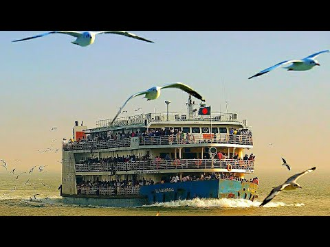 Journey By Ship in Bangladesh Dhaka To Barisal