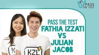Gemasnya Julian Jacob Saat Menang dari Fathia Izzati di Pass The Test Cewekbanget.id!