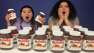 Don't Choose the Wrong Nutella Slime Challenge