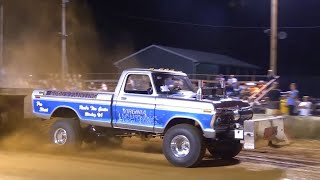 6400 Pro Stock 4x4 Trucks Pulling at Berryville July 2 2016