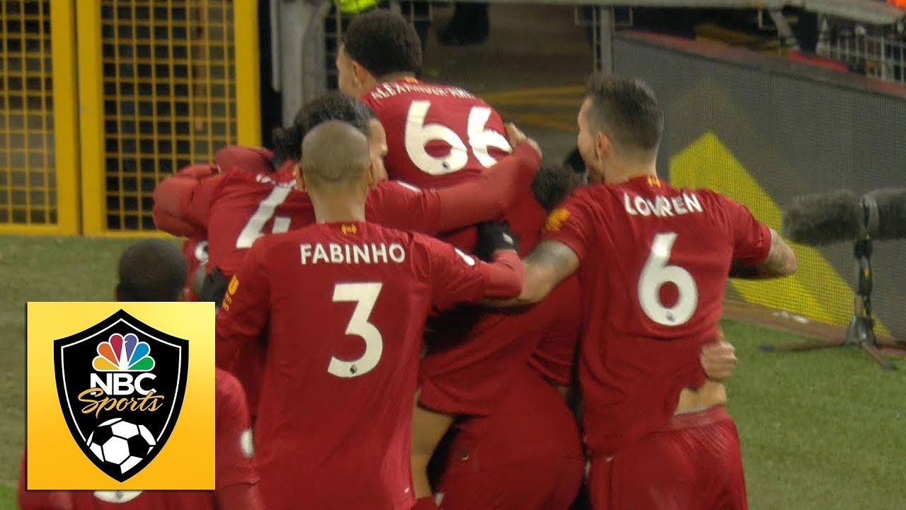 Star Man Sadio Mane Puts Liverpool 5 Games From Premier ...