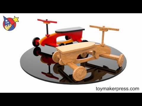wood-toy-plans---quick-&-easy-rocket-ryder-ride-on-car