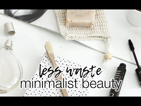 Minimalist beauty swaps | Less waste series