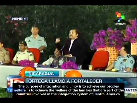 Daniel Ortega highlights the need for Central American integration