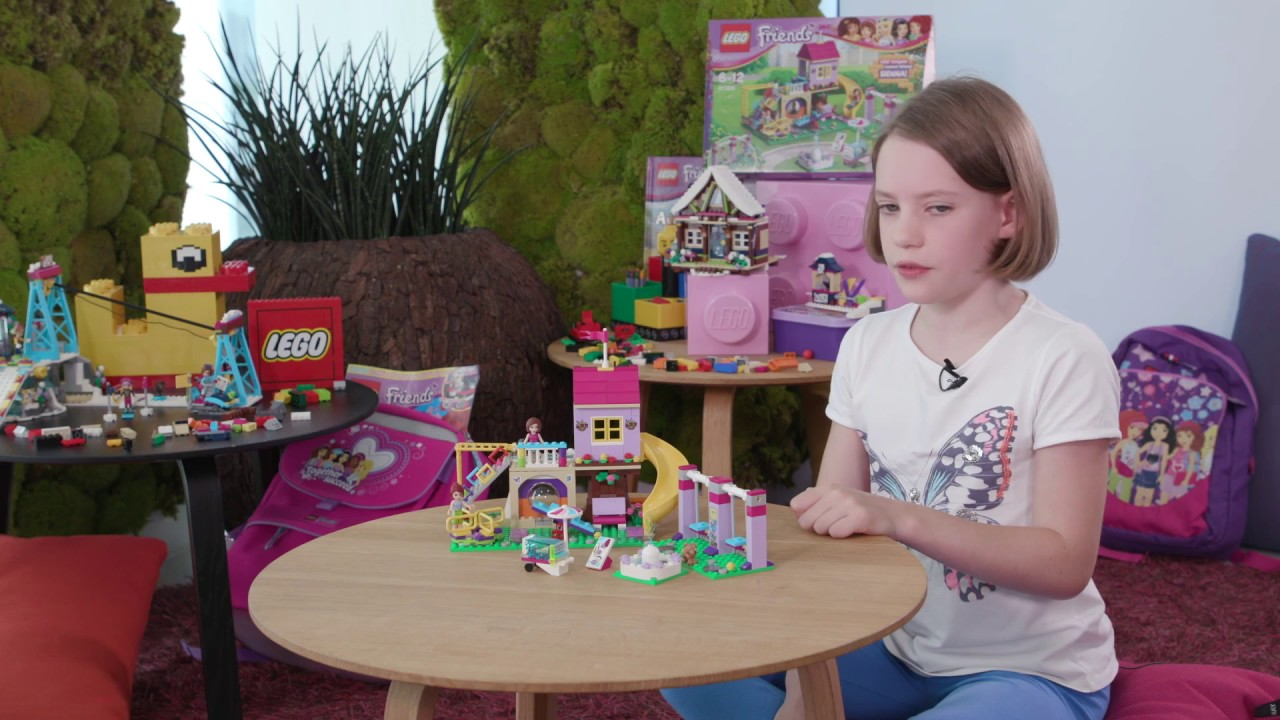 Interview with Sienna, winner of the - LEGO Friends - Designer competition - YouTube