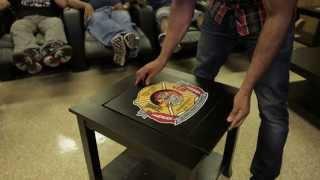 Dreamseat Demonstration: Flip Top Table