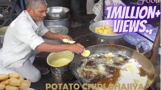 A-1 FAMOUS Dal Vada BHAJIYA Ever - Samosa Indian Style (Tube Company-Vadodara) Popular Street Food ✔