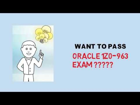 Latest 1Z0-963 PDF Questions Answers for quality success in 1Z0-963 exam