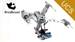 Lego Ultimate Collector Series 10227 B-Wing Starfighter - Lego Speed Build