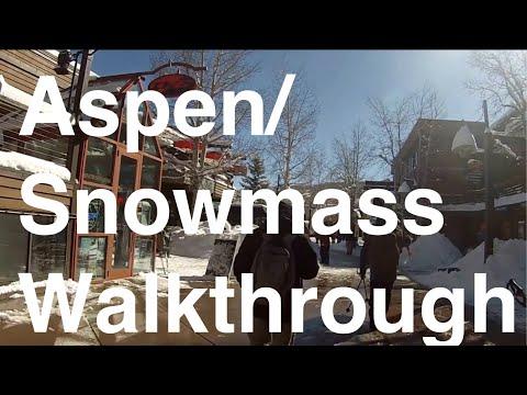 Aspen/Snowmass Village Walkthrough
