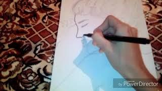 Asan Qiz Sekli Easy Girl Drawing Youtube