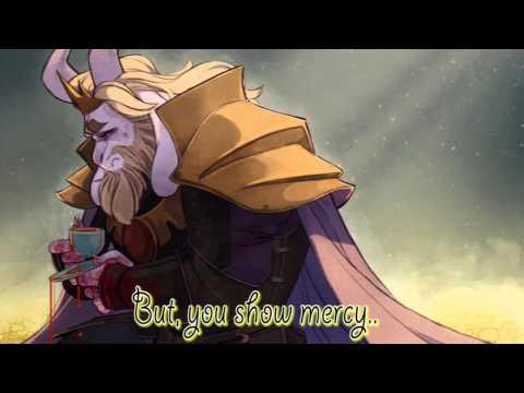 『Asgore, The Fallen King (Remix)』(Vocal)   【Alice Flare】 [[Original Lyrics]]