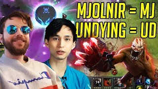 Don't Call Undying UD - Gorgc and SingSing Dota 2 Party