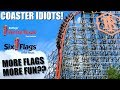 Coaster Idiots Go to Two Six Flags Parks in One Day - Texas Trip Day 3
