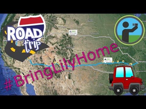Roadtrip vLog - Memphis to Fallon