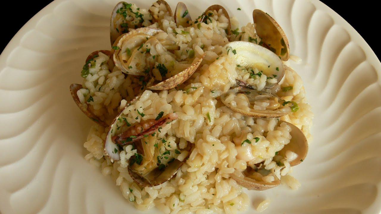Cocinar para los amigos arroz con almejas youtube for Cocinar 2 tazas de arroz