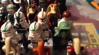 видео: Коллекция минифигурок лего звездные войны