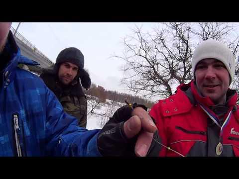 FION Мормышка против Блесны.г.Ярославль,р.Которосль.