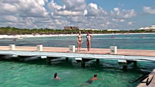 Barcelo Maya Beach Riviera Maya - Christmas Winter Wonderland - YouTube HD