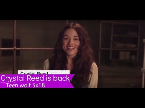 Teen Wolf 5x18- Crystal Reed is back!