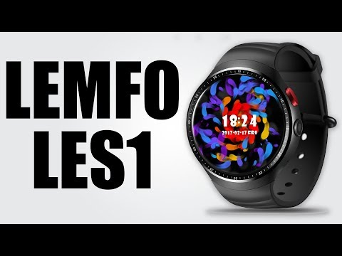 LEMFO LES1 - 1.39 inch / Android 5.1 / 1GB RAM + 16GB ROM / Heart Rate Monitor