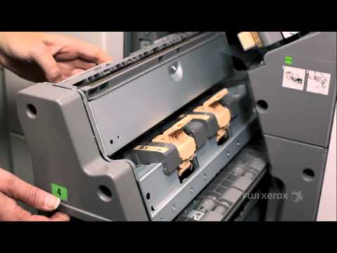 How To Replace Staples in the Booklet Maker - C3 Finisher Products - English