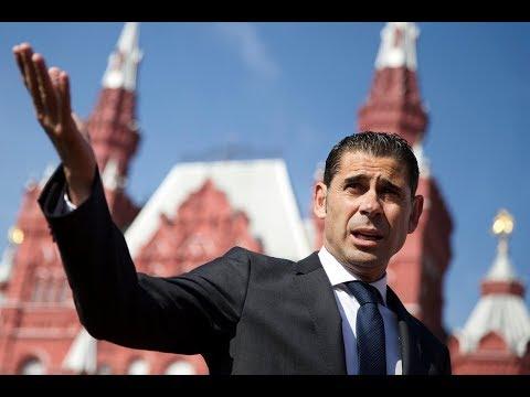 New Spanish Football Team Head Coach Fernando Hierro Holds Presser Hours After Lopetegui's Sacking