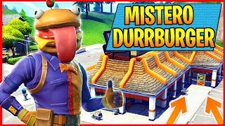 🔴MISTERO DURR BURGER! What happened? Fortnite Royal Battle