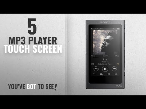 Top 10 Mp3 Player Touch Screen [2018]: Sony NW-A35 Hi-Res Walkman with Touchscreen Display (Black)