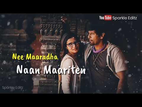 Aanaalum Indha Mayakkam Song 💞 Tamil Love Whatsapp Status 💞 Lyrical Video 💞 Sparkle Editz
