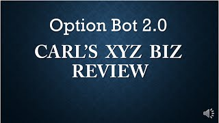 Option Bot 2.0 Review - Option Bot 2.0 EXPOSED!