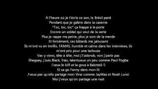 Gradur - Terrasser (PAROLES HD)