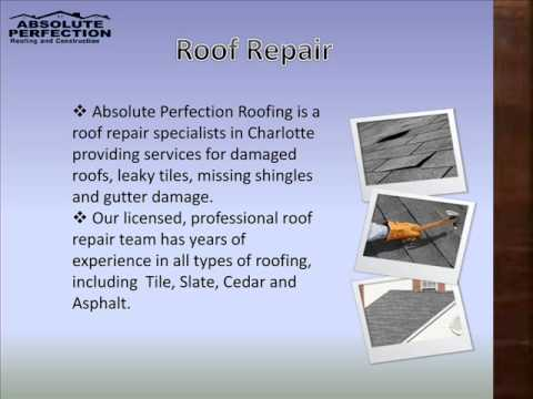 Roofing Company In Charlotte   Absolute Perfection Roofing