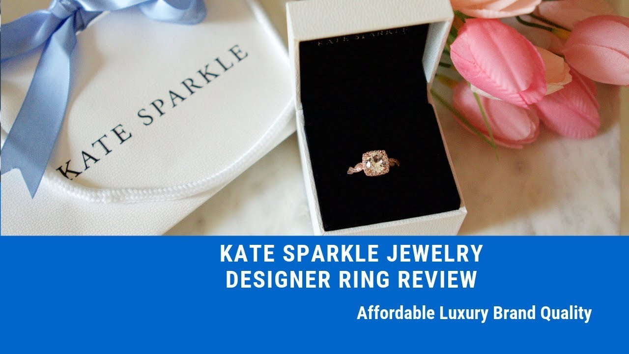 Kate Sparkle Jewelry - Designer Ring Review